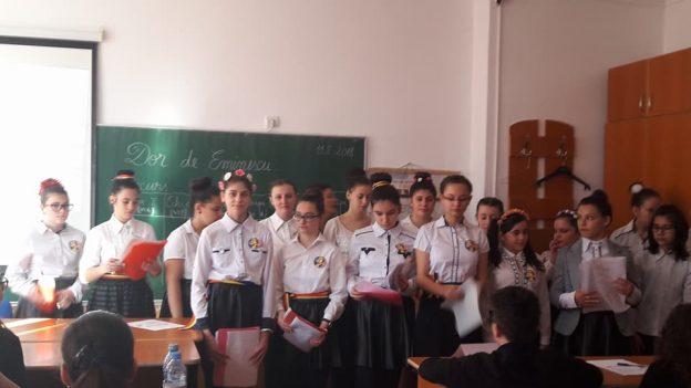 """PROIECT EDUCAȚIONAL """"DOR DE EMINESCU"""""""